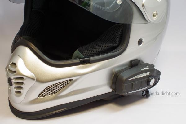 クールロボGTとヘルメット正面