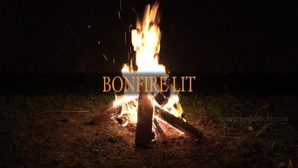 BONFIRE LIT