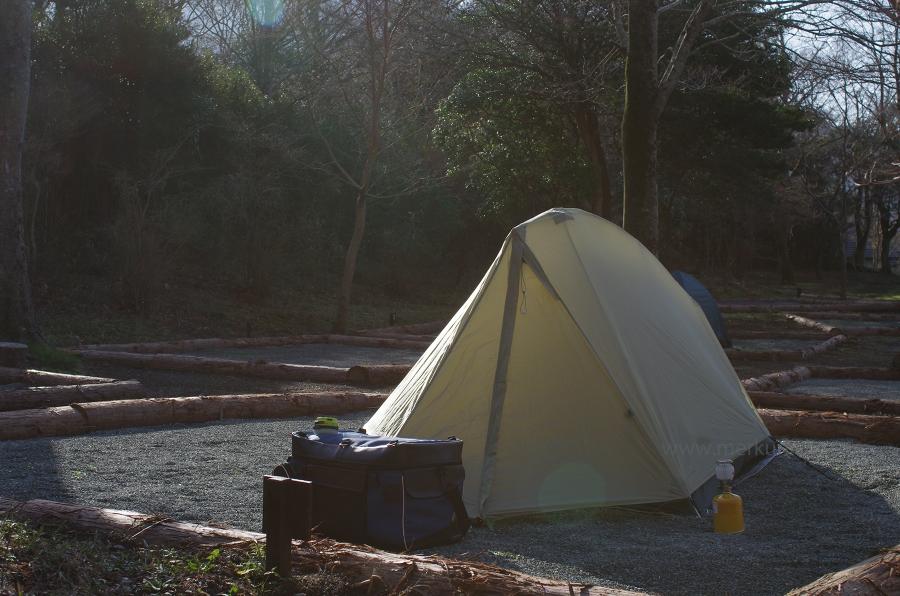 日本一周-1日目-キャンプ場