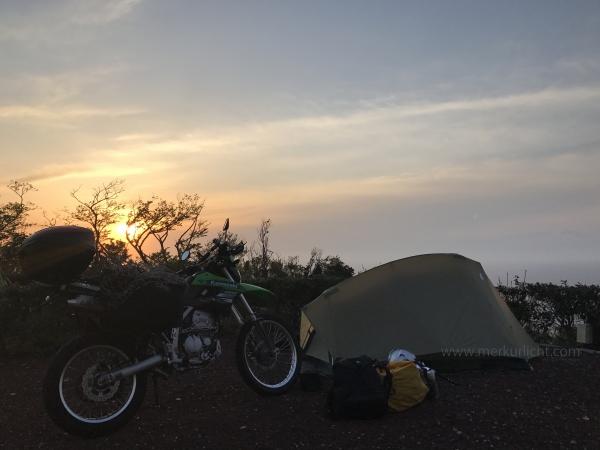 日本一周-2日目-キャンプ場