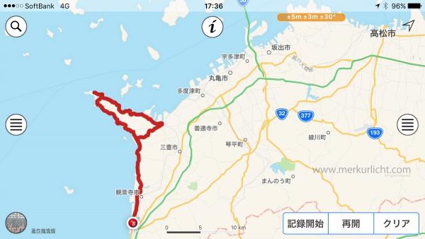 日本一周-24日目-ルート