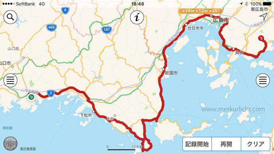 日本一周-26日目-ルート