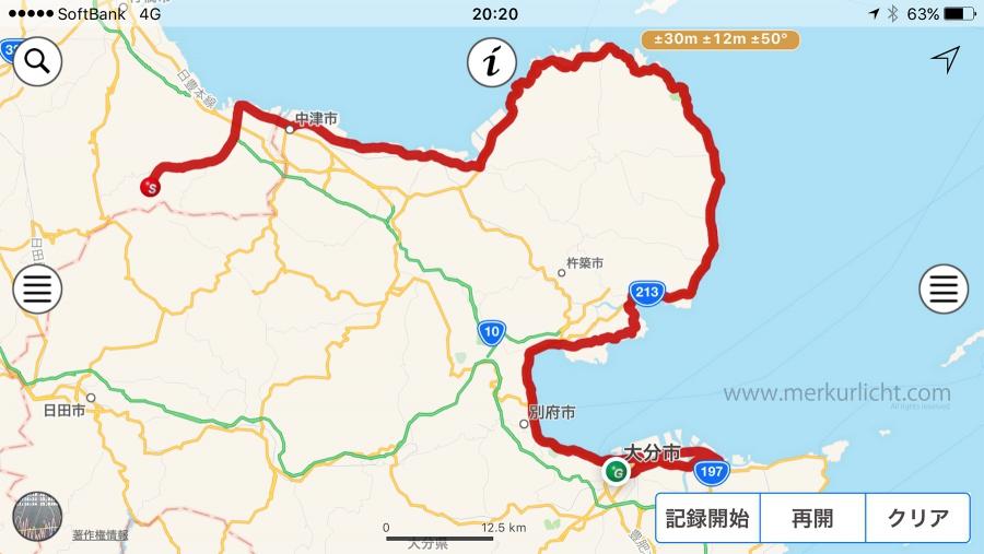 日本一周-28日目-ルート